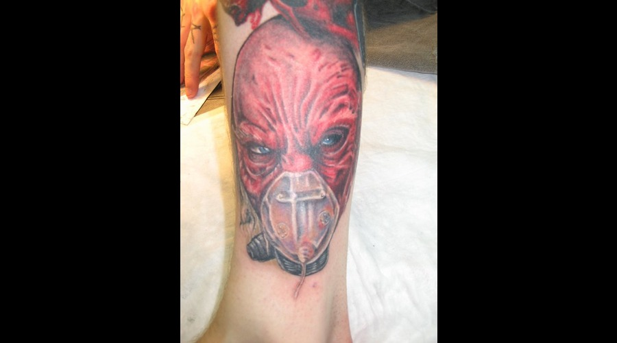 Dr. Satan  Movie Character  Evil  Photo Realism Color