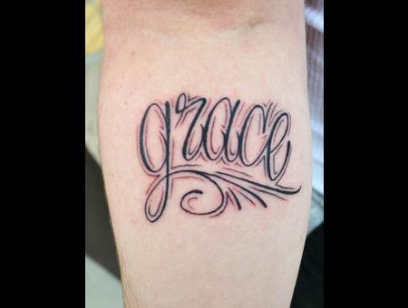 Grace  Lettering