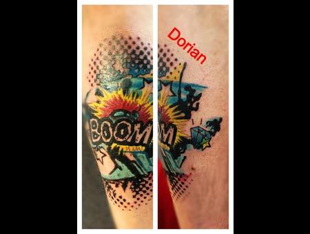 Boom  Color  Halftone  Comic Book Color