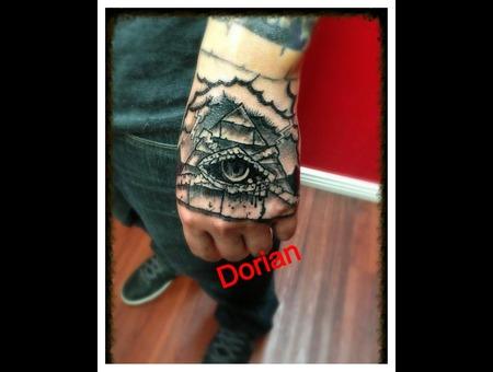 Pyramid  Eye  Illuminati  Dark  Horror  Black And Gray Black White