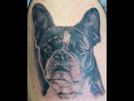 Dog Tattoos  Pet Tattoos Black White