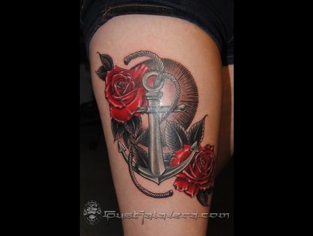 Anchor Roses Seattle Gus Kalavera  Color