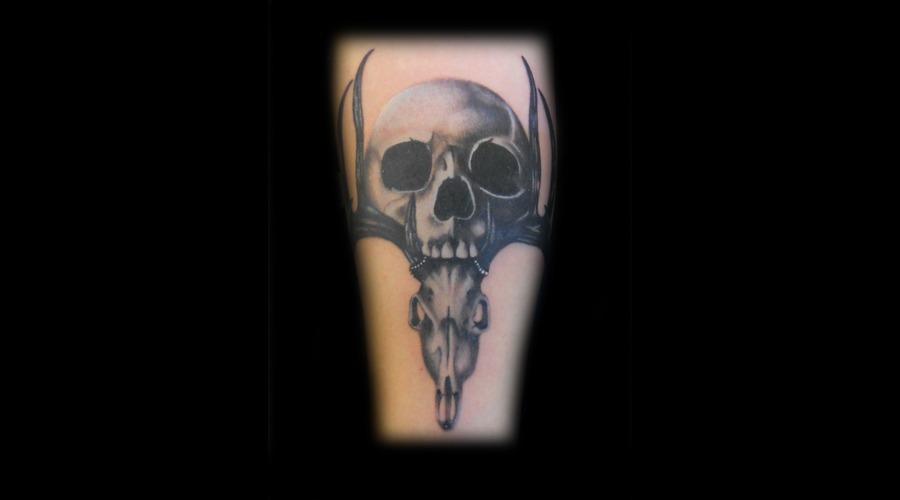 Realism Black White Forearm