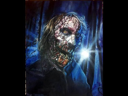 Zombie Painting Color