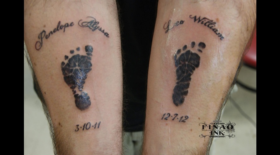 Footprints  Text  Family  Black And Grey Black White
