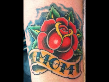 Rose Tattoo Color