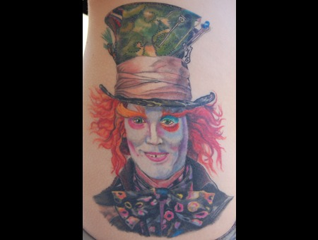 Mad Hatter Tattoo Color