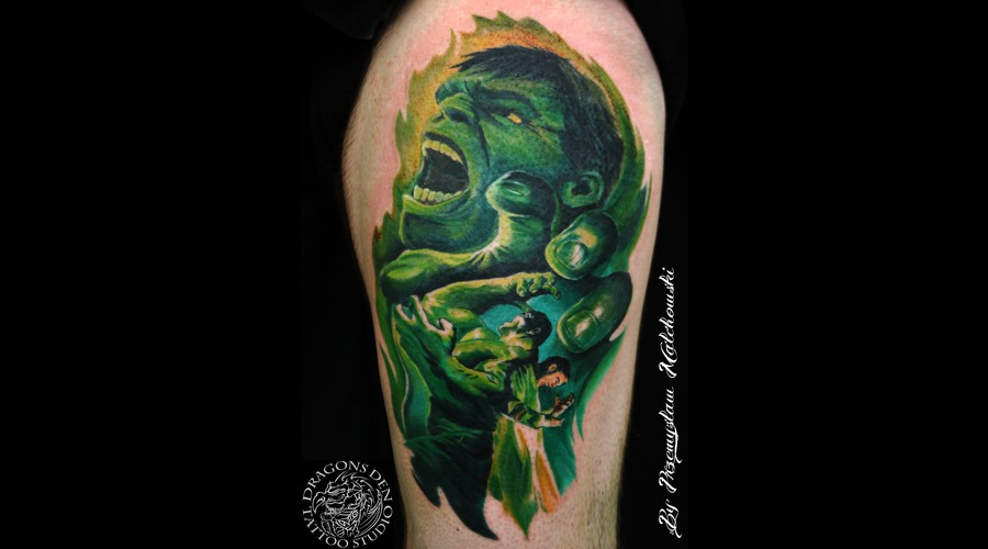 Green Hulk Leg Color