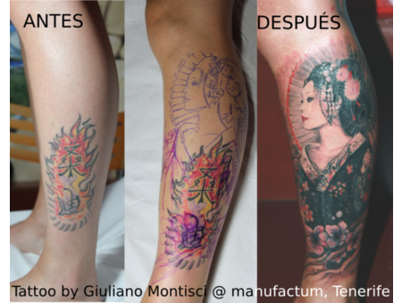 Cover Up  Geisha Color Lower Leg