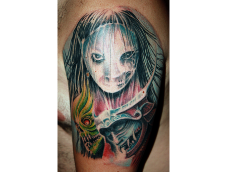 Japanese Horror Stories Color Arm