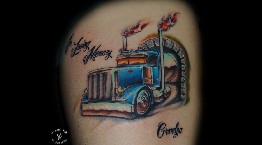 Truck  Semi  Semi Truck  Memorial  Color Thigh