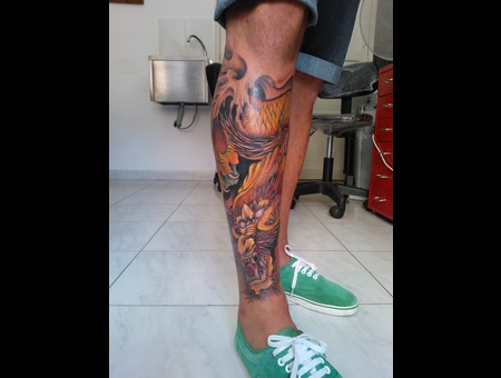 #Dragon  Color Lower Leg