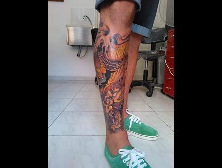 #Dragon  Color Lower Leg