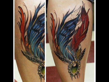 Feathertattoo Robdiamond Color