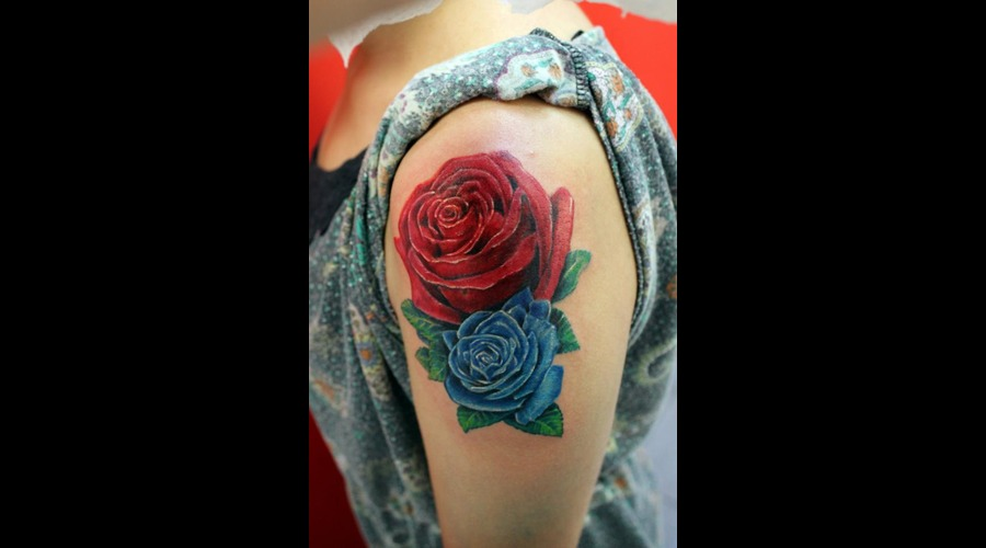 Rose Color Shoulder