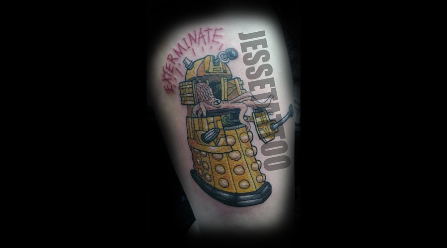 Dr.Who Geek Scifi Color