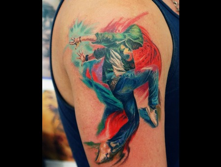 Dancer Tattoo Color