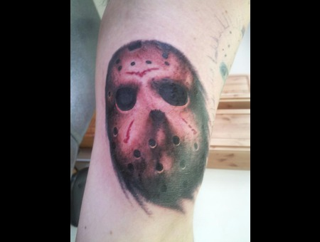 Horror  Monster Jason  Realism  Portrait Black White Arm