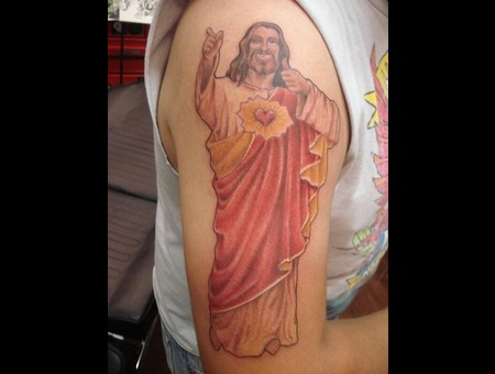Jesus  Buddy Christ  Color   Color Arm