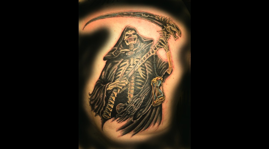 Grim Reaper  Reaper  Death  Scythe Color Back
