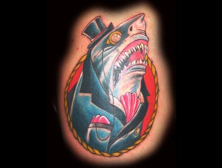 Mr.Shark  Shark  Monacle Color