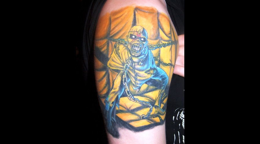 Iron Maiden  Eddy  Piece Of Mind Color