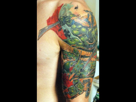 Teenage Mutant Ninja Turtles Color Arm