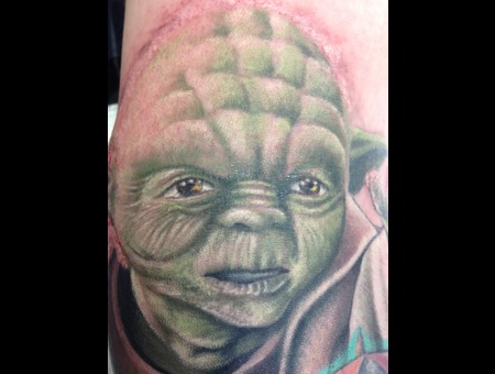 Star Wars  Yoda Color