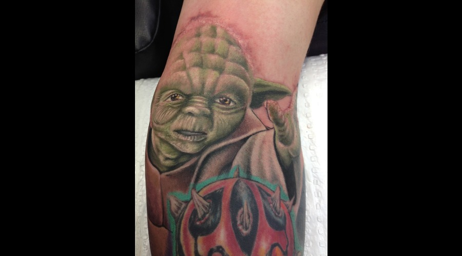 Star Wars  Yoda Color