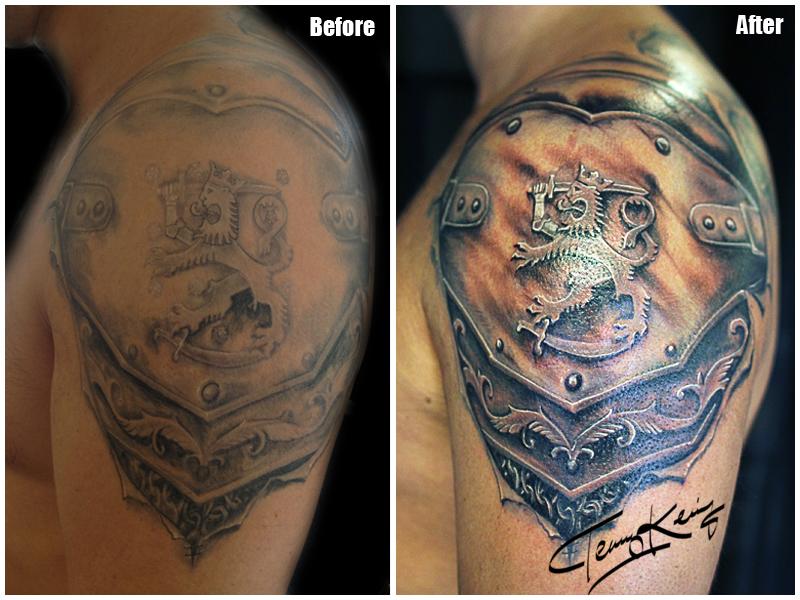 Suomileijona Tatuointi