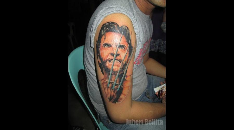Hugh Jackman Wolverine Color