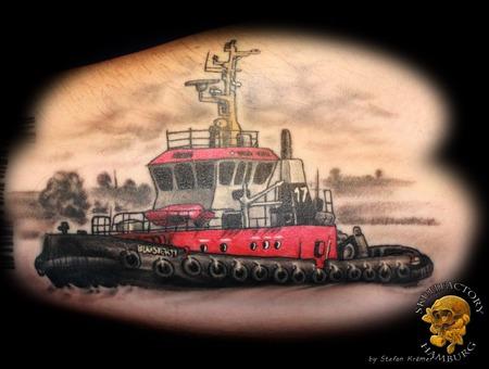 Ship  Bugsier  Healed Forearm