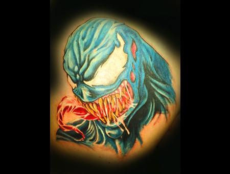 Venom   Spiderman  Evil Color
