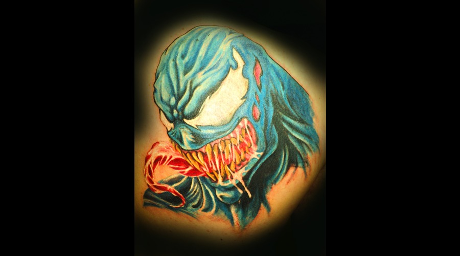 Venom   Spiderman  Evil Color