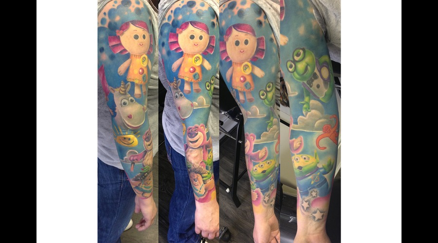 Toy Story  Pixar  Sleeve   Color