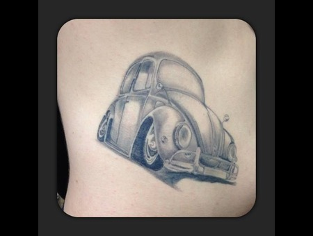 Beatle  Vw  Volkswagen  Black And Grey  Beetle  Awesome Black White