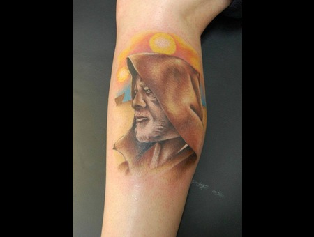 Oni Wan Kenobi  Star Wars Color Lower Leg