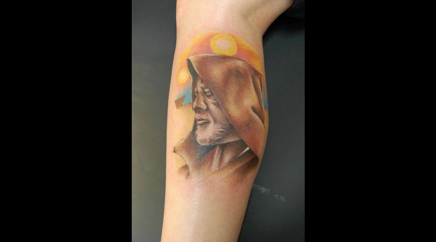 Oni Wan Kenobi  Star Wars Color Lower Leg