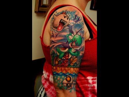 Super Mario  Yoshi  Video Games  Nintendo Color Arm