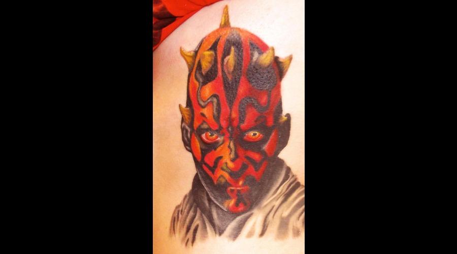 Darth Maul  Portraits  Star Wars Color Ribs