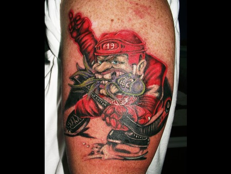 Detroit Red Wings  Sports  Hockey   Color Arm