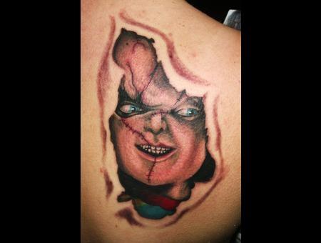 Portrait  Chucky Color Shoulder