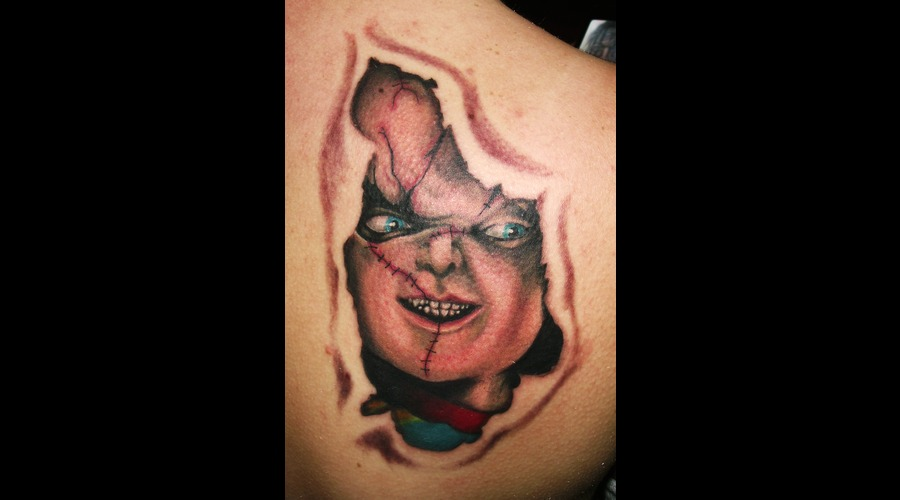 Portrait  Chucky Color Shoulder