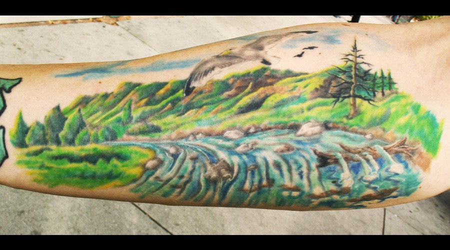 Ogden Canyon  Landscape Color Forearm