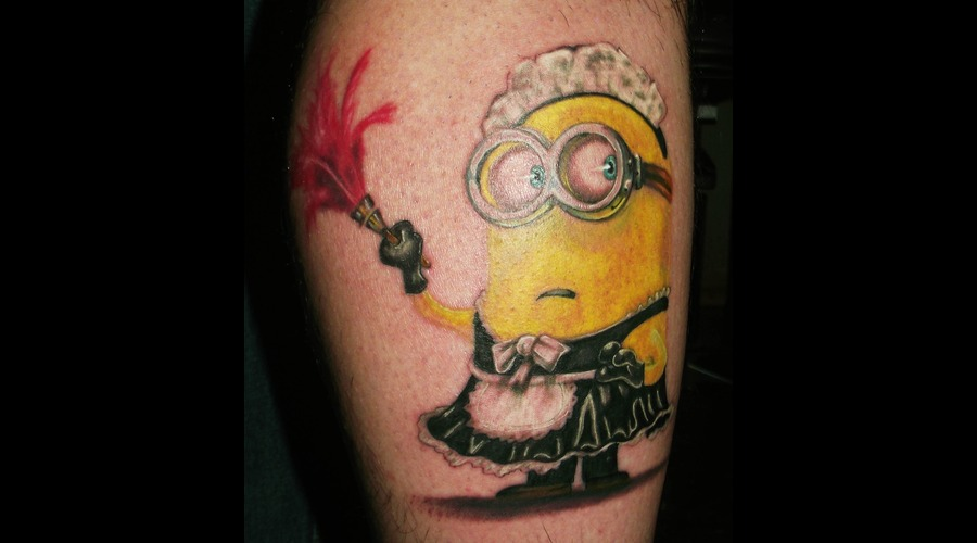 Minion Color Lower Leg