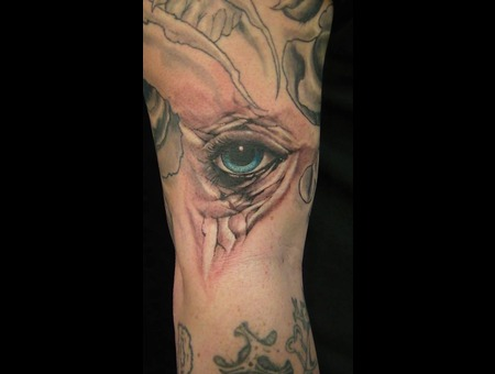 Eye  Realism Black White