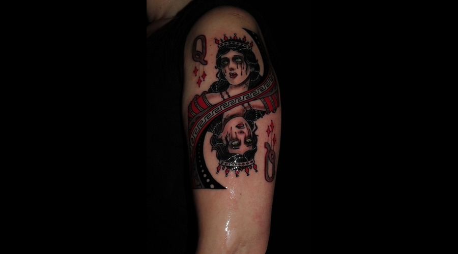 Tattooartist Montreal Gabor Zsil Askew Black White