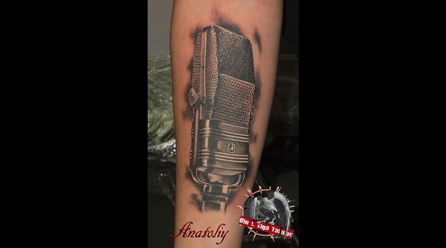Microphone  Music Black White