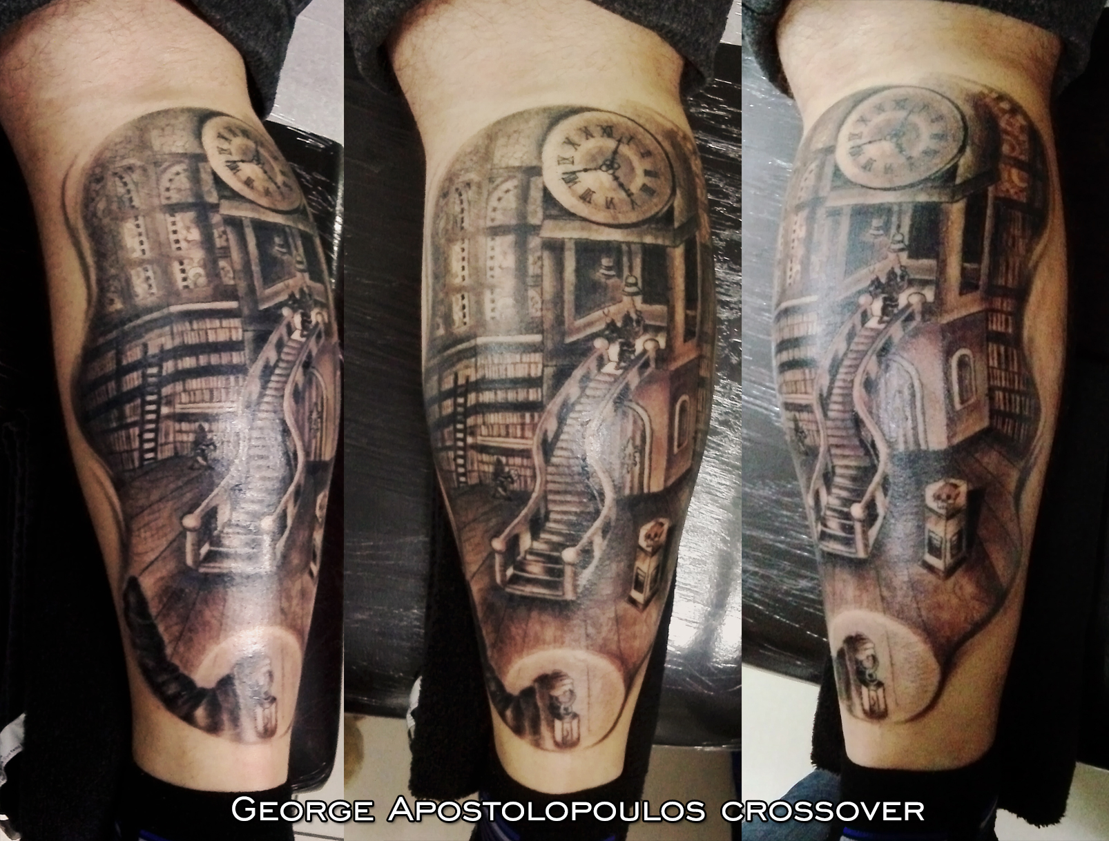 George apostolopoulos certified artist for Tattoos of heaven