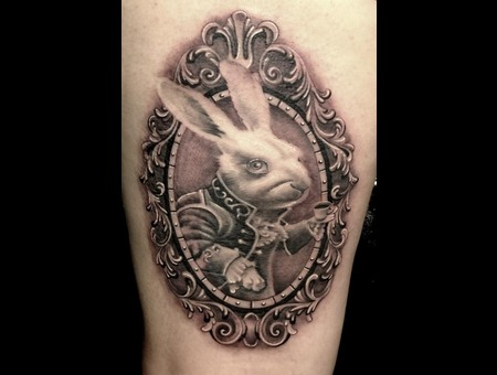 Realism  Photo Realism  Black & Grey Tattoo  Black& White  Trash Polka